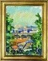 """Ernst Syberg (1906-1981), """"Udsigt fra Monto Pincio"""", 1970"""