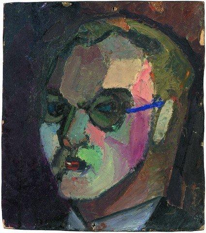 """Ole Keilberg (1911-1985), """"Selvportræt"""", 1930"""